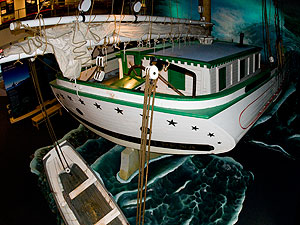 Shipwreck Century Exhibit - Full-Size Ship Replica